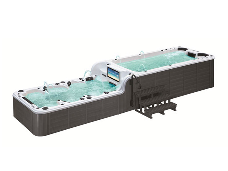 Rectangular swim spa 12-seats BL-859 | Swim spa by Beauty Luxury
