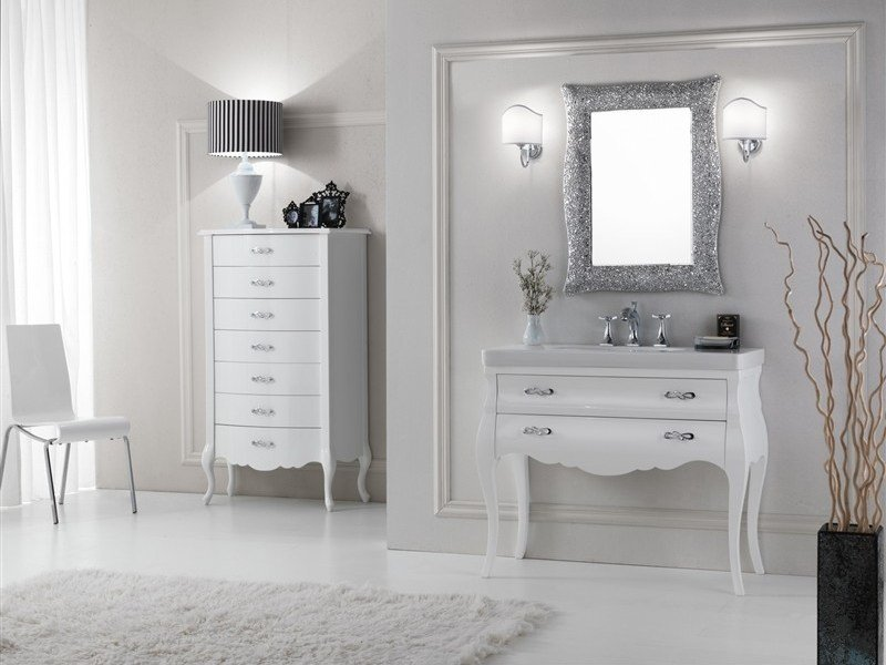 Vanity Unit With Drawers MINI VOGUE 5 By LEGNOBAGNO Nice Look