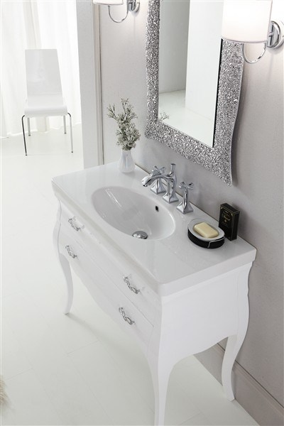 Vanity Unit With Drawers MINI VOGUE 5 By LEGNOBAGNO