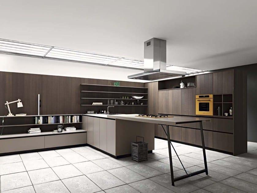 Kitchen with island KALEA - COMPOSITION 7 by Cesar Arredamenti
