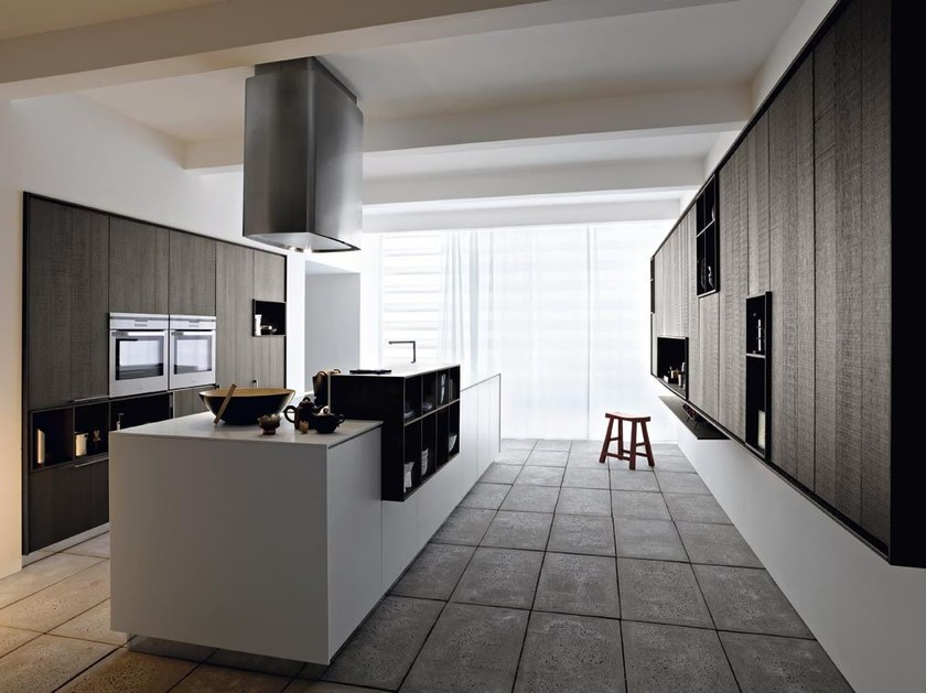 Kitchen with island KALEA - COMPOSITION 5 by Cesar Arredamenti