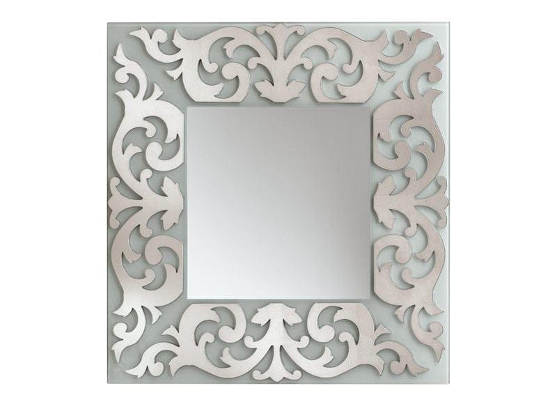 Square mirror RETRO' by RIFLESSI