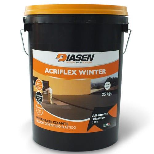 Cement-based waterproofing coating ACRIFLEX WINTER by DIASEN