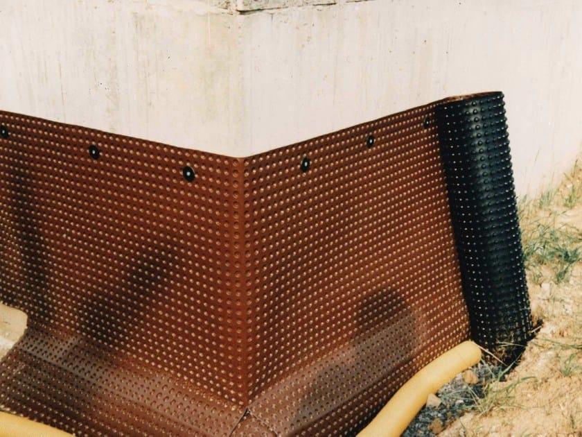 Sistema de drenaje y protecci n contra terreno fondaline for Carta per muri