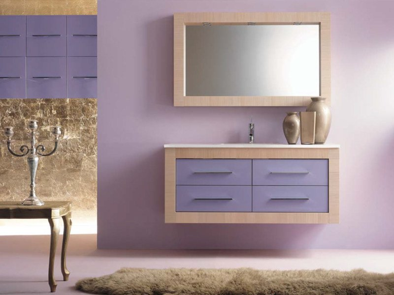 Vanity unit with drawers IKS 10 by LASA IDEA