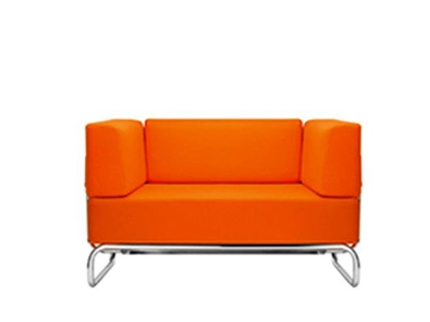 Upholstered armchair S5001 | Armchair by THONET