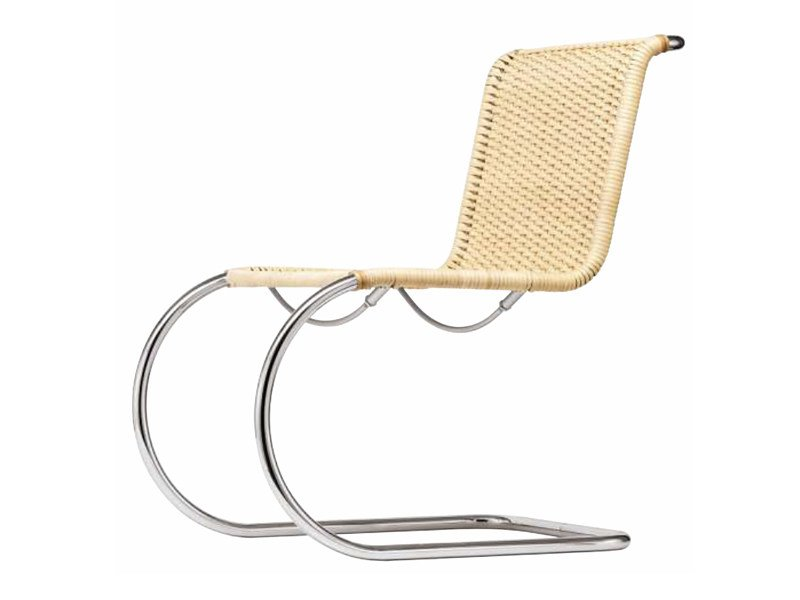 Sedia a sbalzo in vimini S 533 R by Thonet