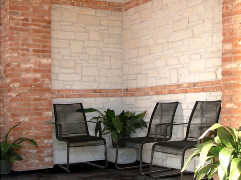 MATTONE RUSTICO Mattone rustico, stucco grigio