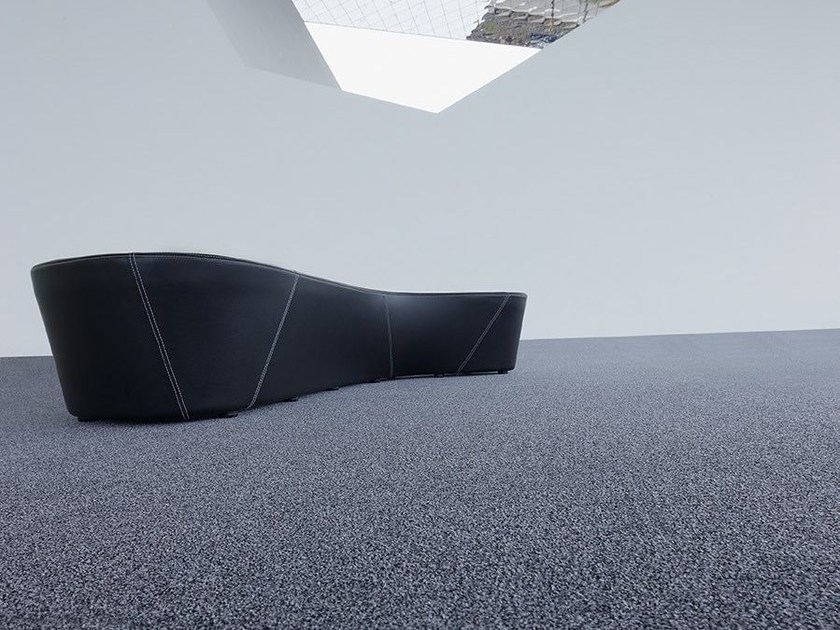 Solid-color polyamide carpeting PESCARA 1000 by OBJECT CARPET GmbH