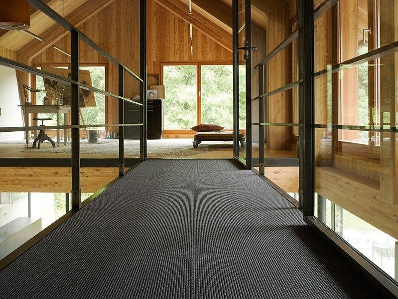 Solid-color polyamide carpeting JACQUARD 700 by OBJECT CARPET GmbH