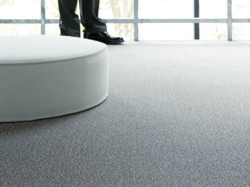 Solid-color polyamide carpeting SPRINGLES 700 by OBJECT CARPET GmbH
