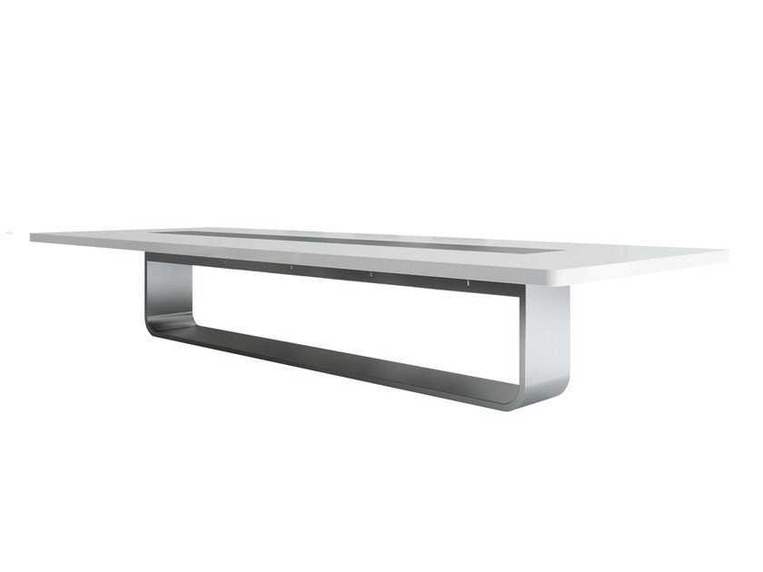 Rectangular meeting table S8000 | Meeting table by THONET