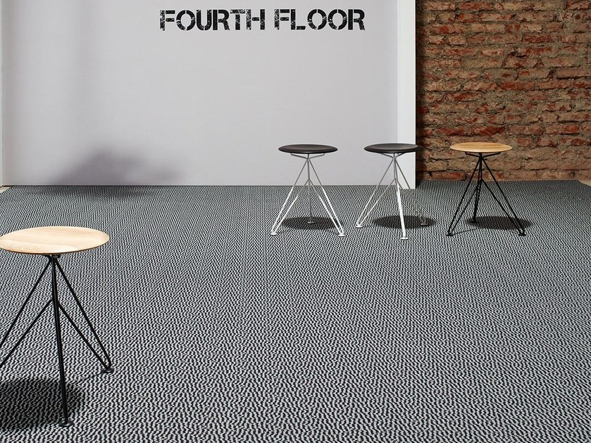 Polyamide carpeting with geometric shapes MARC TEN 1200 by OBJECT CARPET GmbH