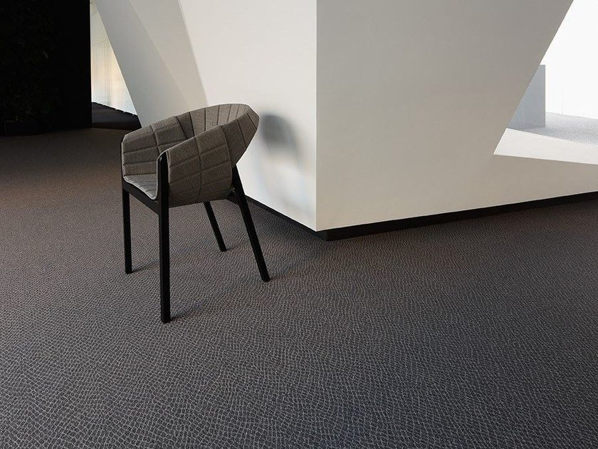 Solid-color polyamide carpeting PYTHON 700 by OBJECT CARPET GmbH