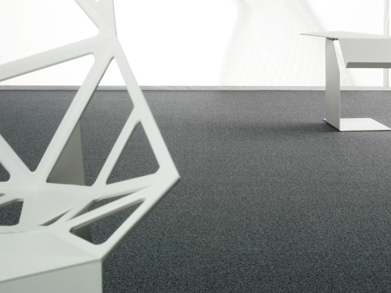 Solid-color polyamide carpeting SL - FISHBONE 700 by OBJECT CARPET GmbH