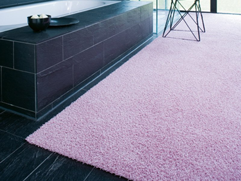 Solid-color polyamide rug POODLE 1445 by OBJECT CARPET GmbH