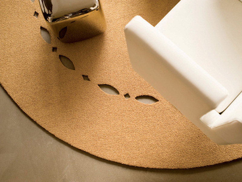 Solid-color polyamide rug SILHOUETTE 13 by OBJECT CARPET GmbH