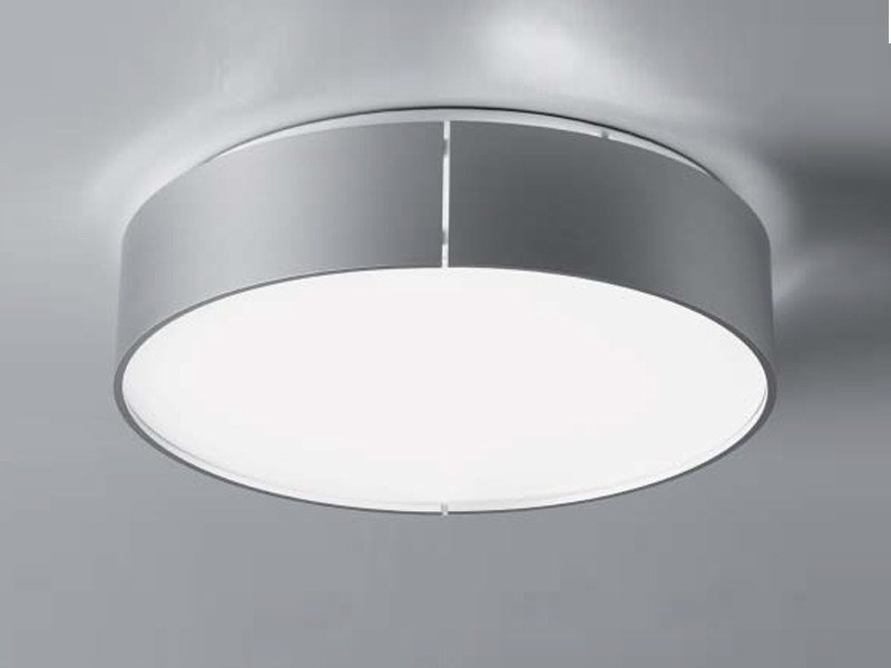 Aluminium ceiling lamp ALLRIGHT | Ceiling lamp by ZERO