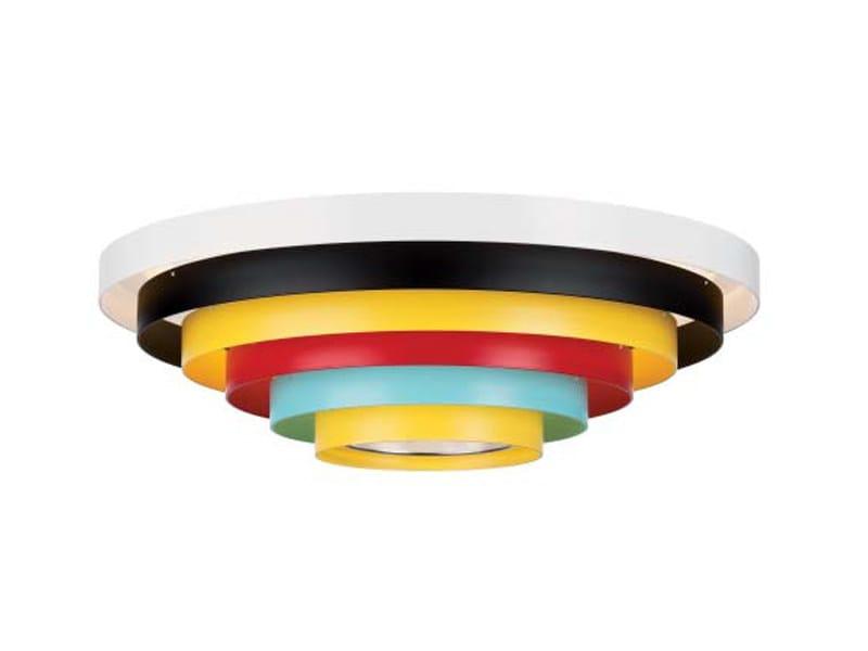 Aluminium ceiling lamp PXL | Ceiling lamp by ZERO
