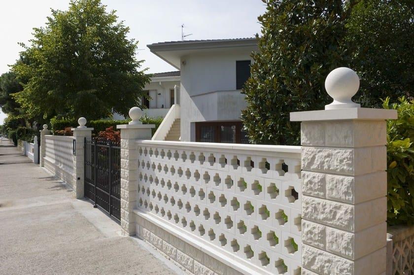 Recinzioni Per Giardino In Cemento.Elementi Modulari Per Recinzioni Graticciate Sas Italia
