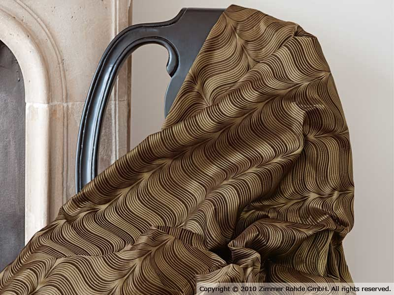 Silk upholstery fabric MAGIA by Zimmer + Rohde