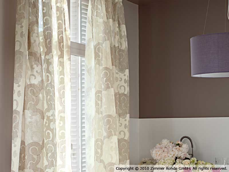 Linen curtain OMNIA by Zimmer + Rohde