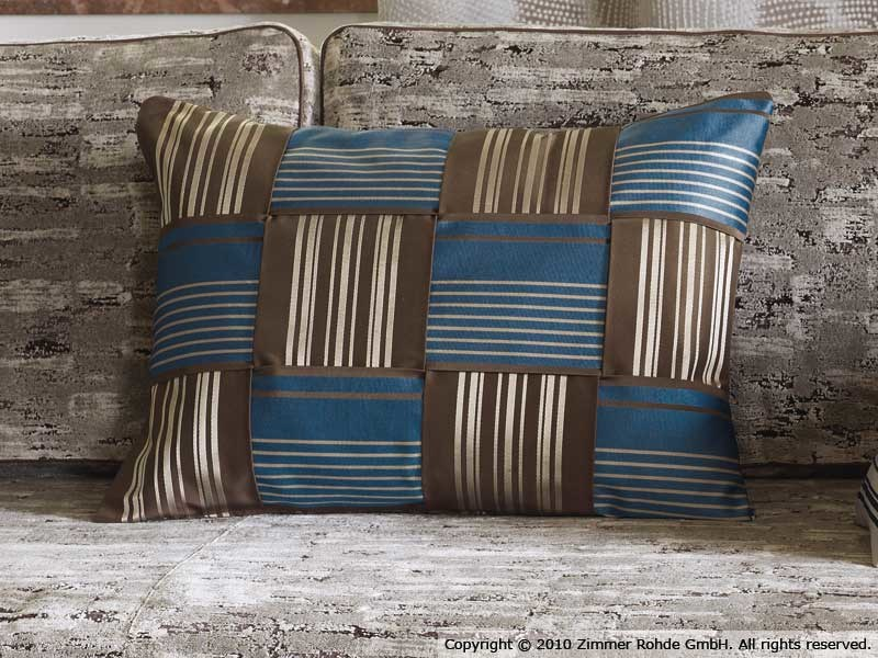 Striped cotton fabric ZAMBIA by Zimmer + Rohde