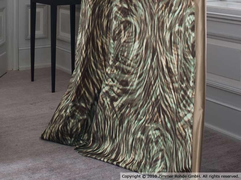 Printed cotton fabric AZAYA by Zimmer + Rohde