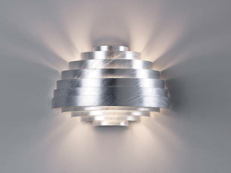 Galvanized steel wall lamp PXL | Wall lamp by ZERO