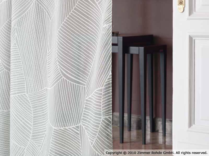 Polyester curtain FIELDS by Zimmer + Rohde