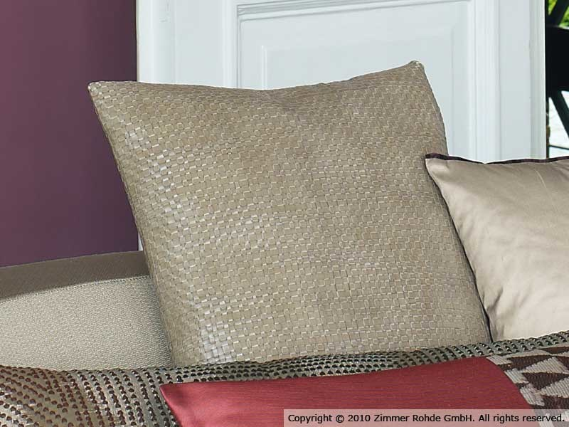 Leather upholstery fabric BASE by Zimmer + Rohde