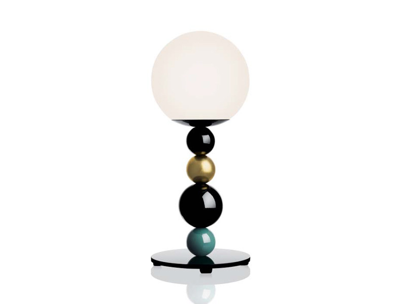 Wooden table lamp RGB | Table lamp by ZERO