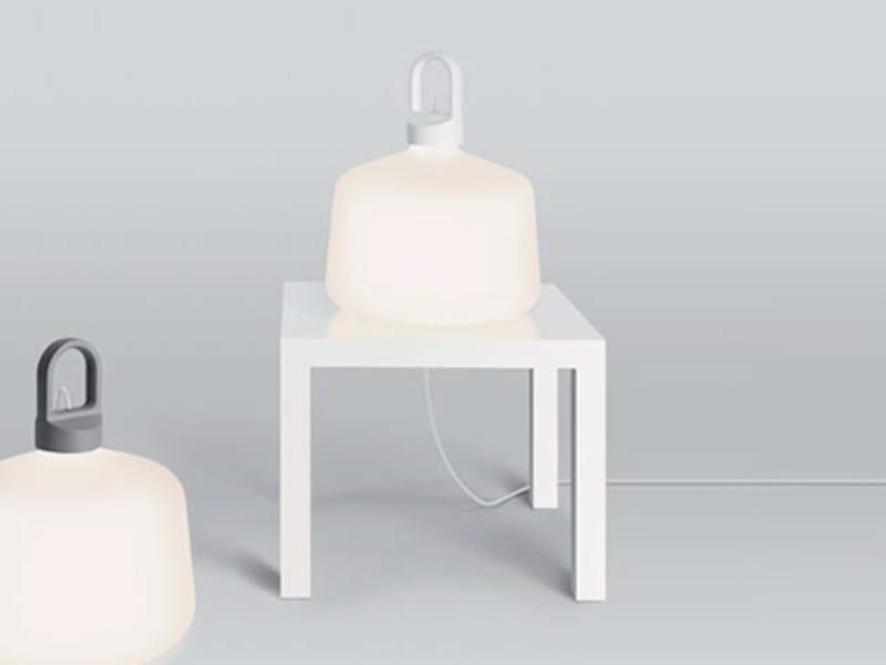 Aluminium table lamp BOTTLE   Table lamp by ZERO