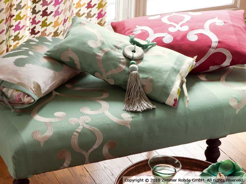 Cotton upholstery fabric CABOTAGE by Zimmer + Rohde
