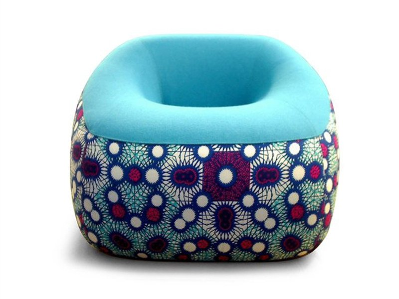 Fabric armchair SWAMP by Artifort
