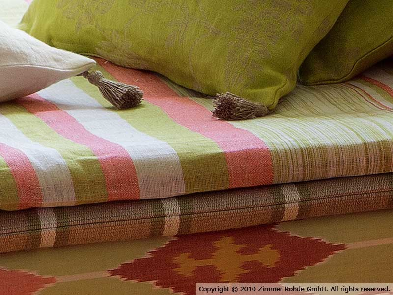 Linen upholstery fabric SEYCHELLES by Zimmer + Rohde