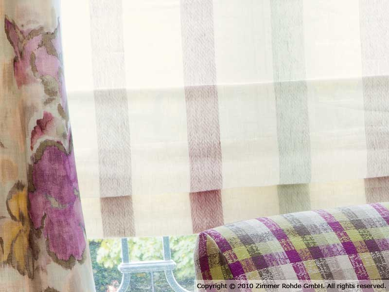 Linen curtain BAHAMAS by Zimmer + Rohde