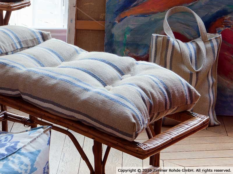 Linen upholstery fabric CAPVERT by Zimmer + Rohde