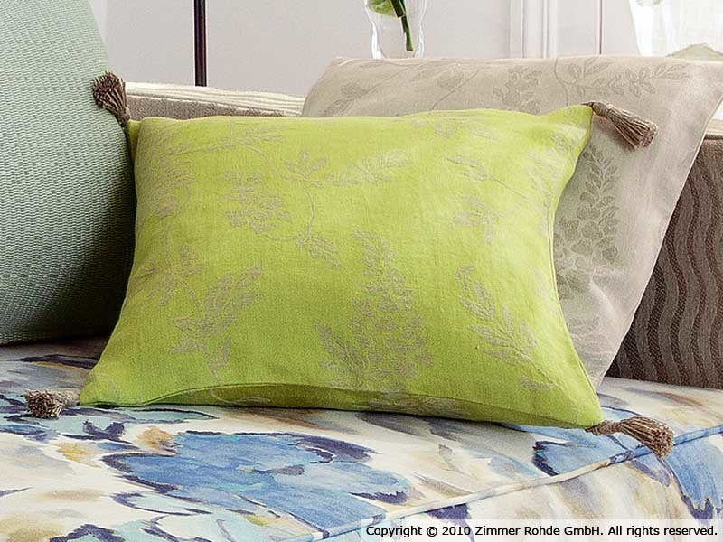 Linen upholstery fabric BORA BORA by Zimmer + Rohde