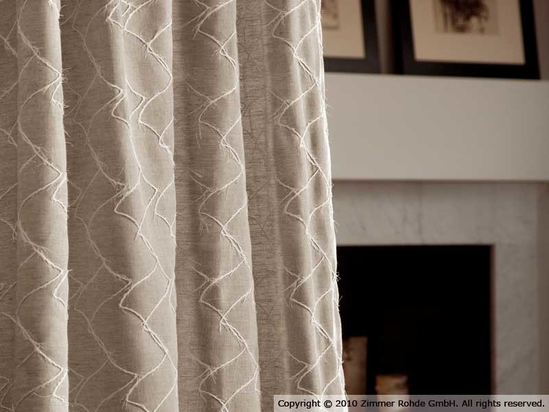 Linen curtain DAVEY by Zimmer + Rohde
