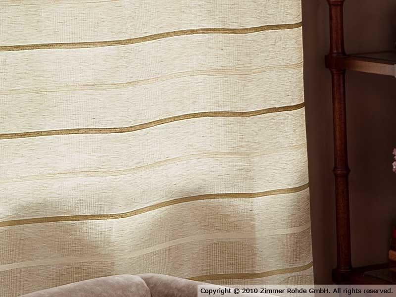 Linen curtain GARRET STRIPE by Zimmer + Rohde
