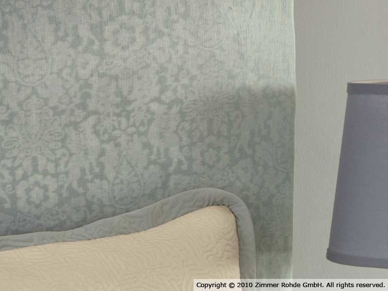 Linen upholstery fabric GRYPHON by Zimmer + Rohde