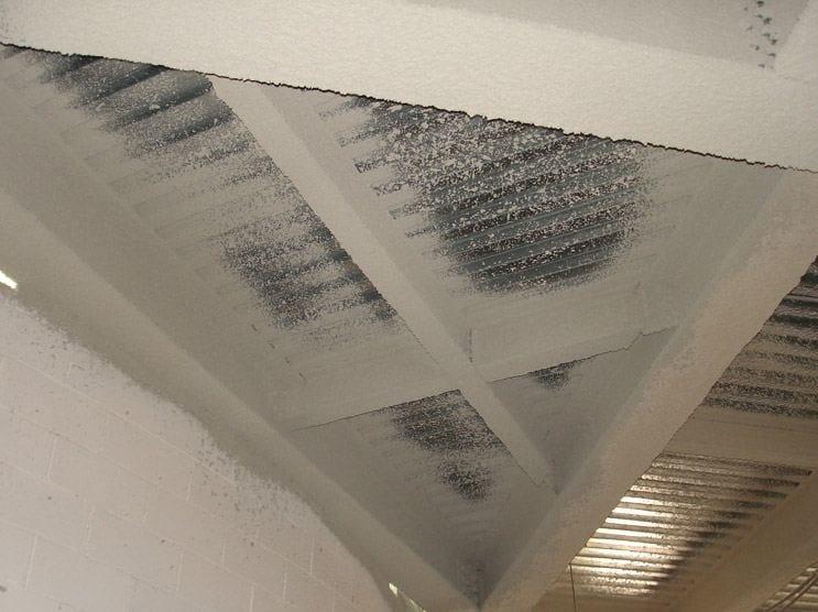 Fire-resistant plaster MONOKOTE® by J.F. AMONN