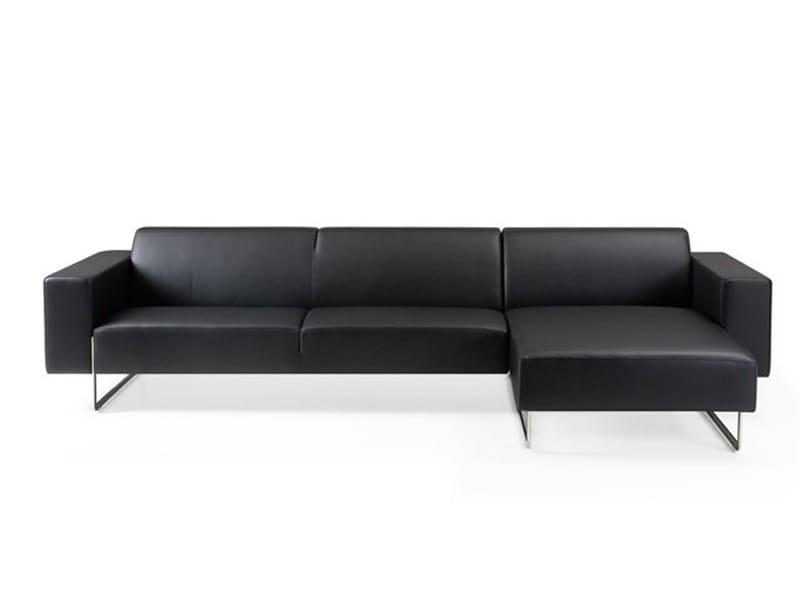 Corner fabric sofa MORE MARE by Artifort