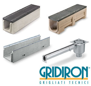 Drainage channel and part Grating canals by GRIDIRON GRIGLIATI