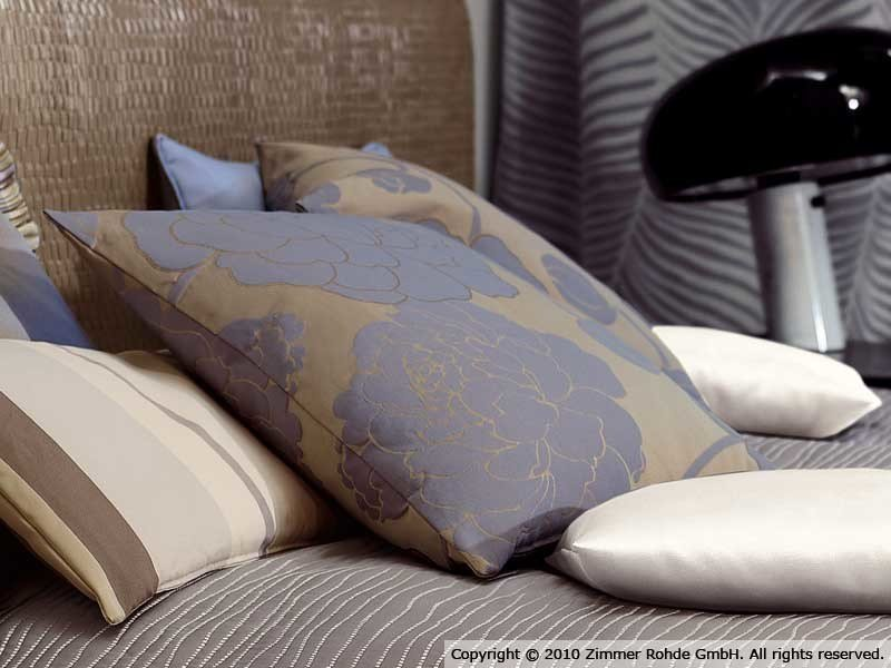 Polyester upholstery fabric for curtains PEONIA by Zimmer + Rohde