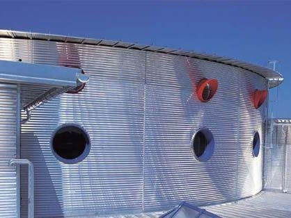Metal sheet and panel for roof KALBAU® by KALZIP