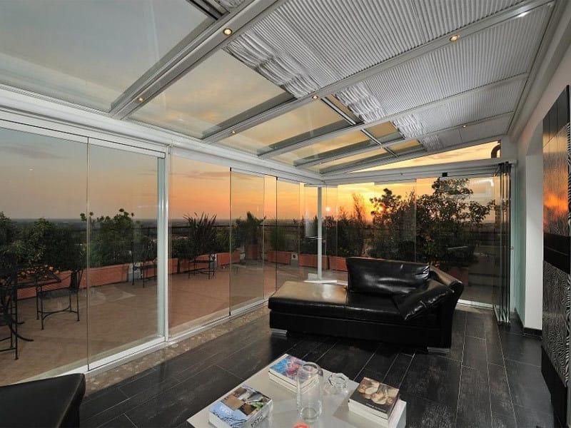 Aluminium glass facade OMNIA by TENDER
