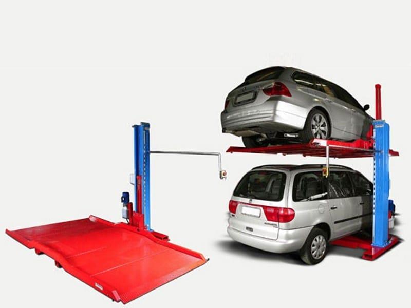 Parking lift MAGIC PARK X2 by CARPENTERIE MUSSINI
