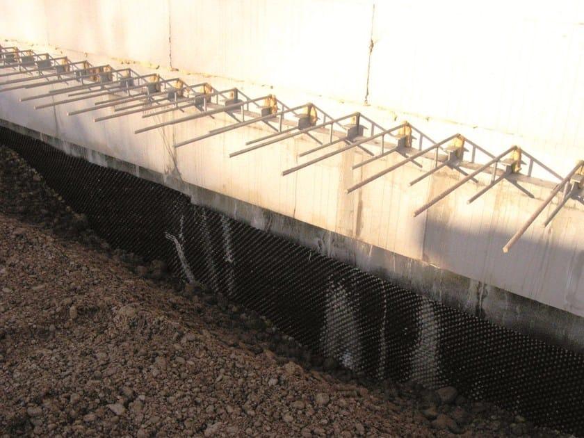SCUDOX Impermeabilizzazione muri contro terra con membrana Scudox